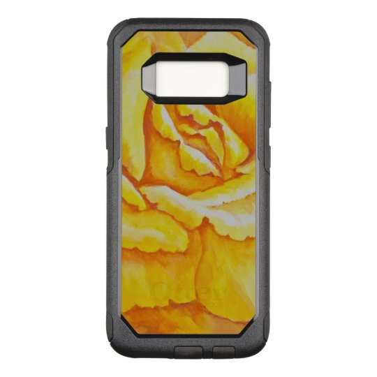 Yellow Rose OtterBox Commuter Samsung Galaxy S8 Case