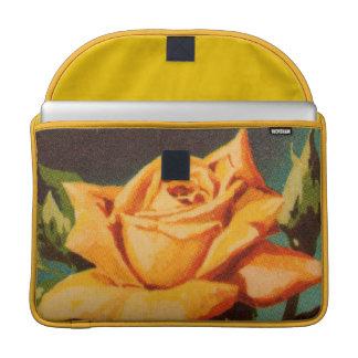 Yellow Rose Sleeve For MacBooks
