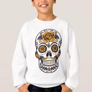 Yellow Rose Sugar Skull Sweatshirt