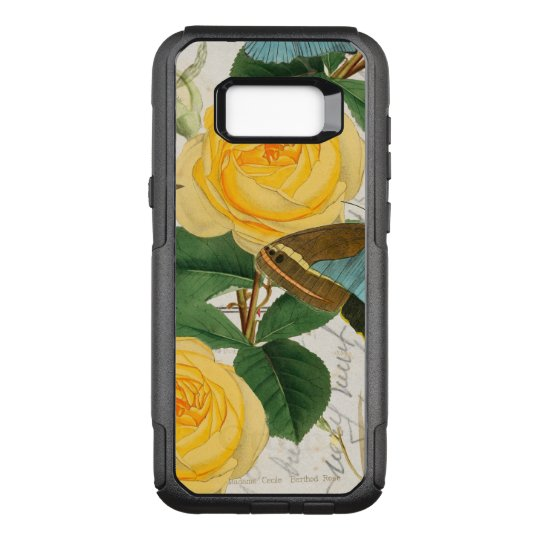 Yellow Roses Collage OtterBox Commuter Samsung Galaxy S8+ Case
