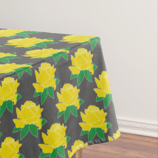 Yellow Roses Custom Pattern Tablecloth
