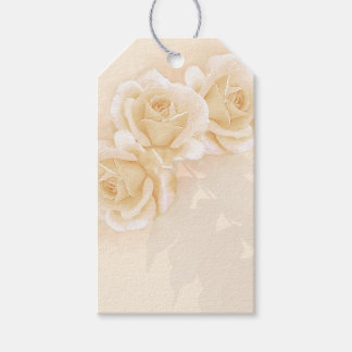 Yellow Roses & Eucalyptus Gift Tags Pack Of Gift Tags