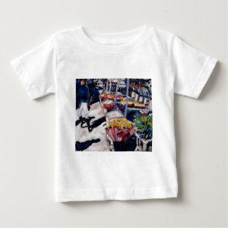 yellow roses moore street dublin baby T-Shirt