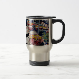 yellow roses moore street dublin travel mug