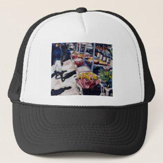 yellow roses moore street dublin trucker hat