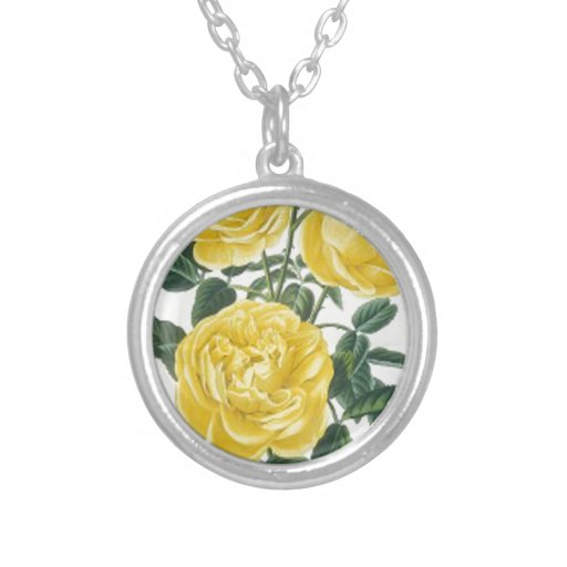 Yellow Roses Mother's Day Card Pendants