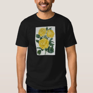 Yellow Roses Mother's Day Card Shirts