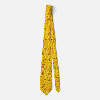 Yellow Roses of Friendship Men's Tie