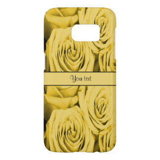 Yellow Roses Samsung Galaxy S7 Case