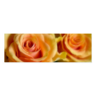 Yellow Roses • Save the Date Mini Card Business Card