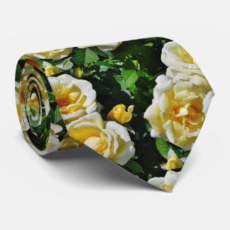 Yellow Roses Tie