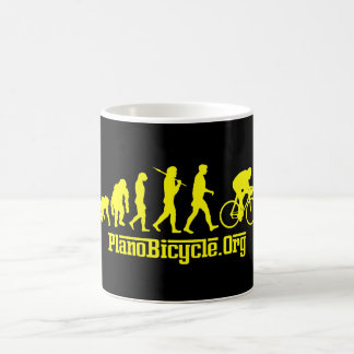Yellow Rosso Yellow Jersey Cycling Evolution Coffee Mug