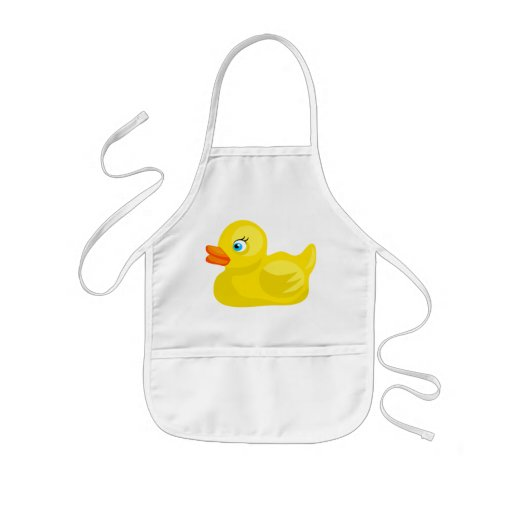 Yellow Rubber Duck Apron