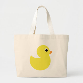 Yellow Rubber Duck Tote Bags