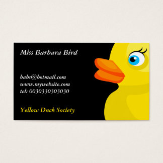 Yellow Rubber Duck, Business Card