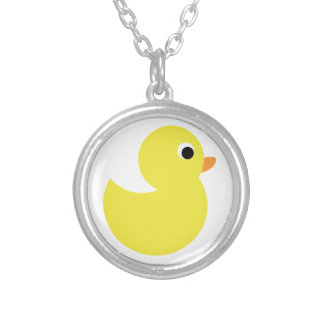 Yellow Rubber Duck Pendant