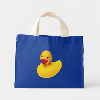 Yellow Rubber Duck Tote Bag