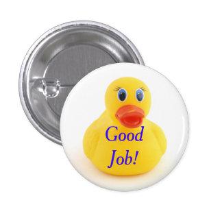 Yellow Rubber Ducks Pinback Button