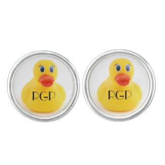 Yellow Rubber Ducks Cufflinks