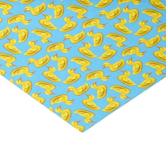 Yellow Rubber Ducks Tissue Paper