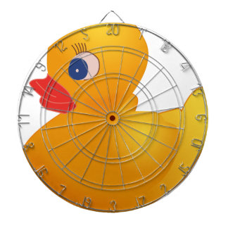 Yellow Rubber Ducky Dartboard