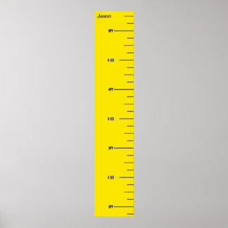 Yellow Ruler Growth Chart