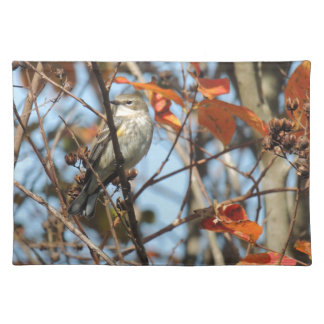 Yellow-rumped Warble in Winter Placemat
