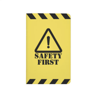 Yellow Safety First Journal