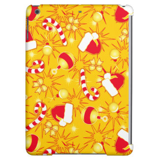 Yellow - Santa's cap Cover For iPad Air
