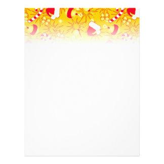 Yellow - Santa's cap Flyer