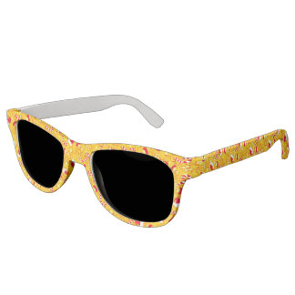Yellow - Santa's cap Sunglasses