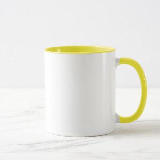 Yellow Sarah mug