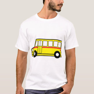 Yellow School Bus Mens T-Shirt