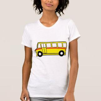 Yellow School Bus Womens T-Shirt
