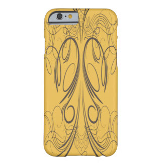 'Yellow Script' Barely There iPhone 6 Case