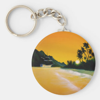 yellow sea.jpg keychain