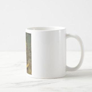 Yellow Seahorse Coffee Mug