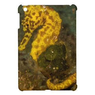Yellow Seahorse iPad Mini Case