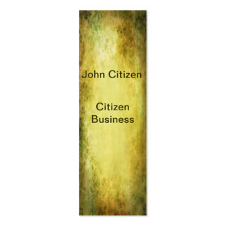 Yellow Sepia Texture Business Card