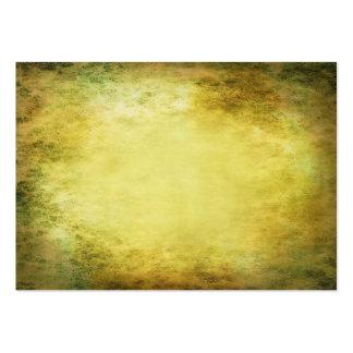 Yellow Sepia Texture Business Card Templates