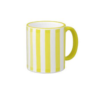 Yellow Shades Ringer Coffee Mug