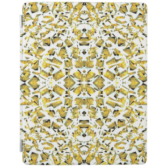 Yellow Shapes iPad Smart Cover iPad Cover