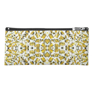 Yellow Shapes Pencil Case