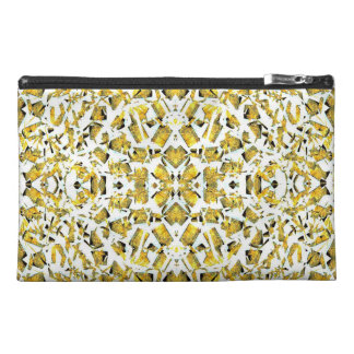 Yellow Shapes Travel Accessory Bag