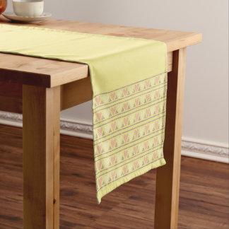 Yellow Short Table Runner