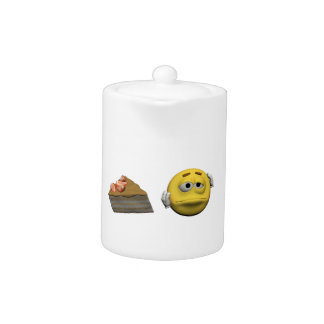 Yellow sick emoticon or smiley