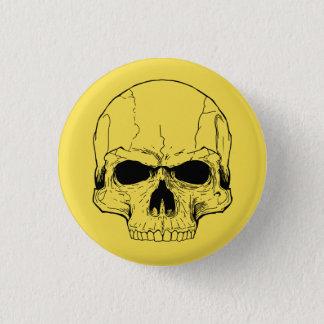 Yellow Skull Button