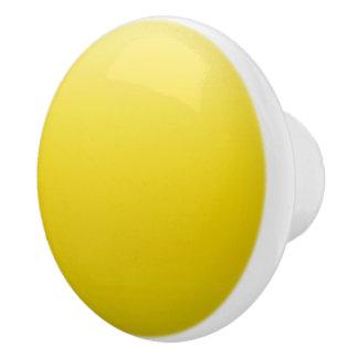 Yellow Sky Ceramic Knob