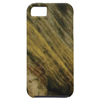 yellow slashes in the rock iPhone 5 case