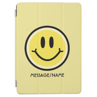 Yellow Smile iPad Air Cover